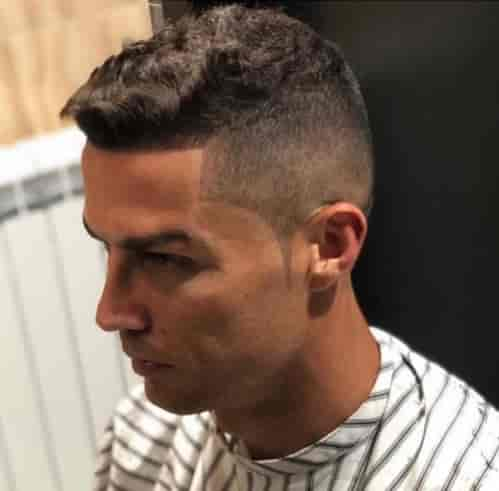 CRISTIANO RONALDO HIGH FADE + THICK TOP HAIR