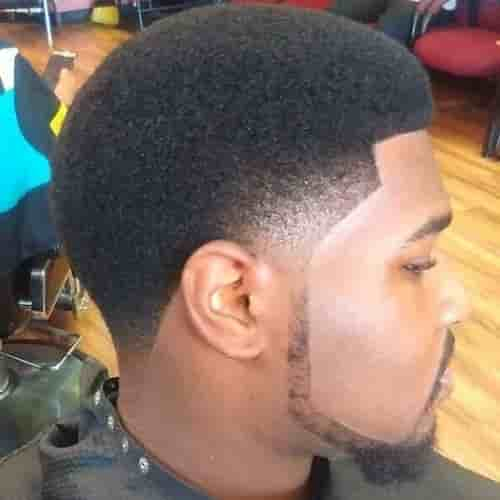SLACKED L SHAPE CHIN STRAP BEARD FOR BLACK MEN