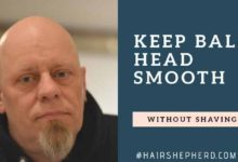 how to keep bald head smooth without shaving