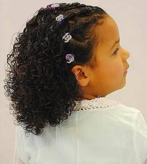 BRAIDS WITH BUTTERFLY CLIP