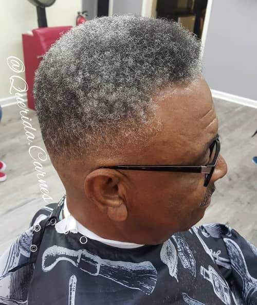 SKIN FADE + MEDIUM TOP HAIRCUT