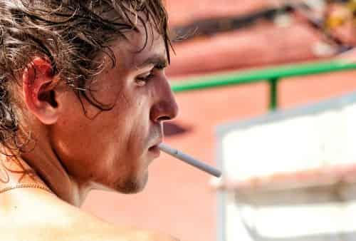 SMOKING CAUSES GRAY HAIR