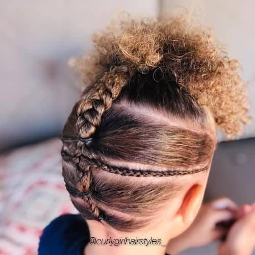 SUPER CREATIVE HAIRSTYLE