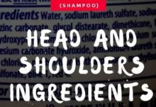 HEAD AND SHOULDERS INGREDIENTS