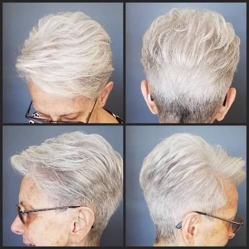 HAIRCUT FOR OLDER WOMEN