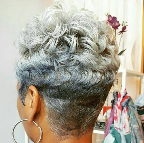 TRENDING SHORT HAIRSTYLES FOR GRAY HAIR