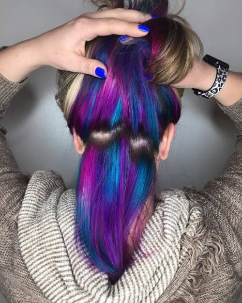 31 Best Underneath Hair Color Ideas Ultimate Guide