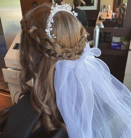 Classy Crown Braid Hairstyle