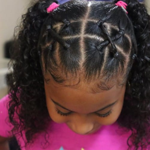 21 Hairstyles For Toddlers With Curly Hair Girl S Best