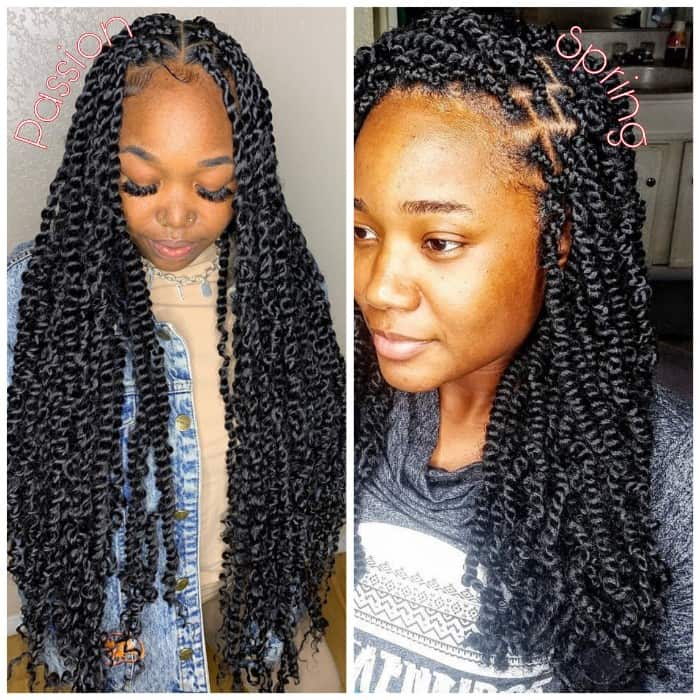 Long Passion Twists vs Long Spring Twists