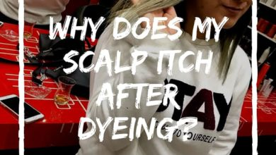 Scalp Itch After Coloring
