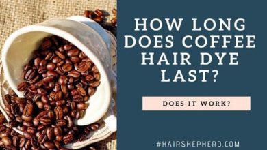 Coffee Hair Dye