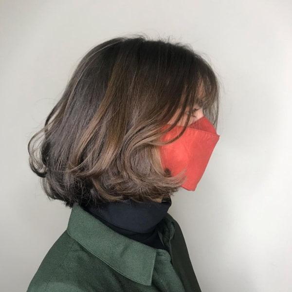 Medium Length Low Maintenace Bob Haircut