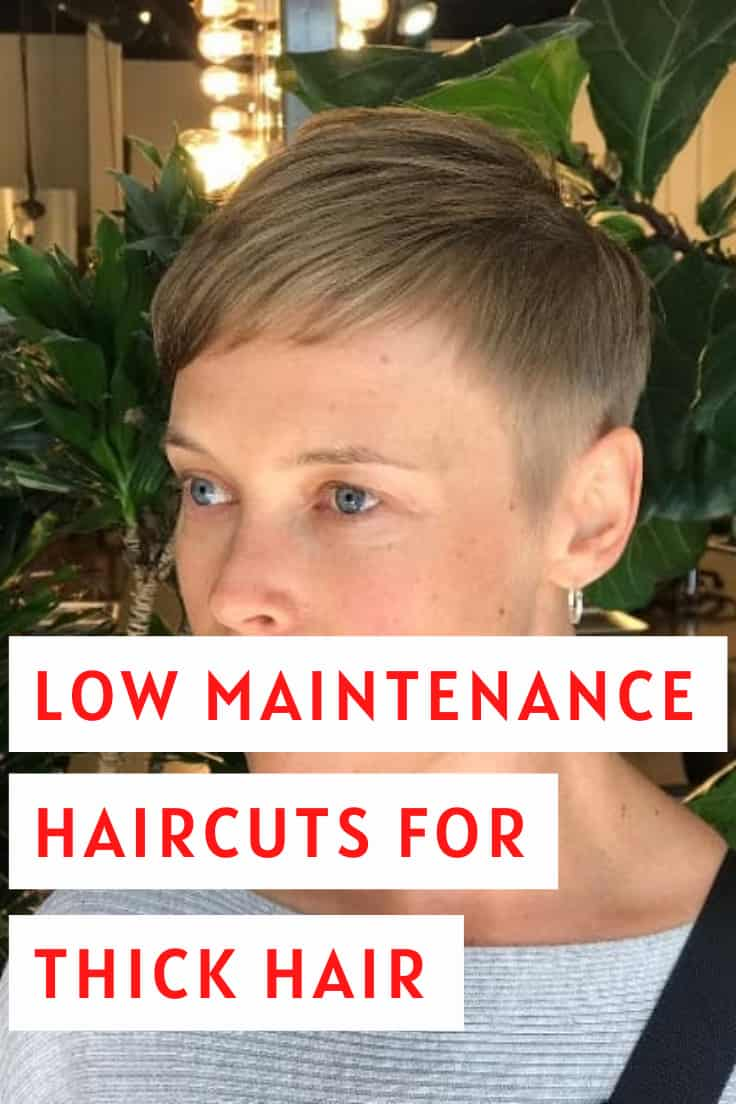 LOW MAINTENANCE HAIRCUTS