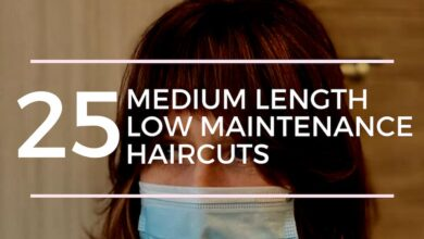 Medium Length Low Care Cuts