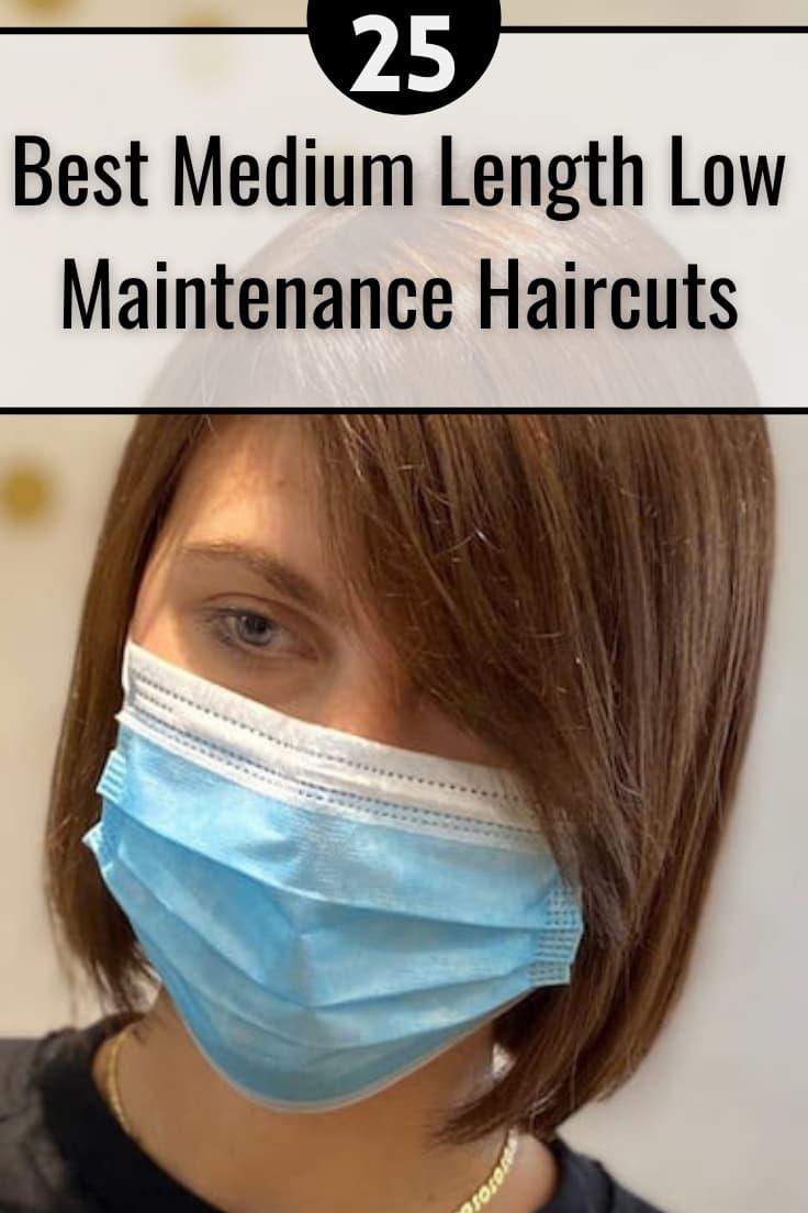 Medium Length Low maintenance Haircuts