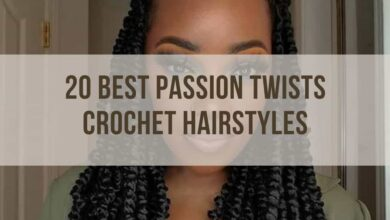 passion twists crochet hairstyles you must not miss