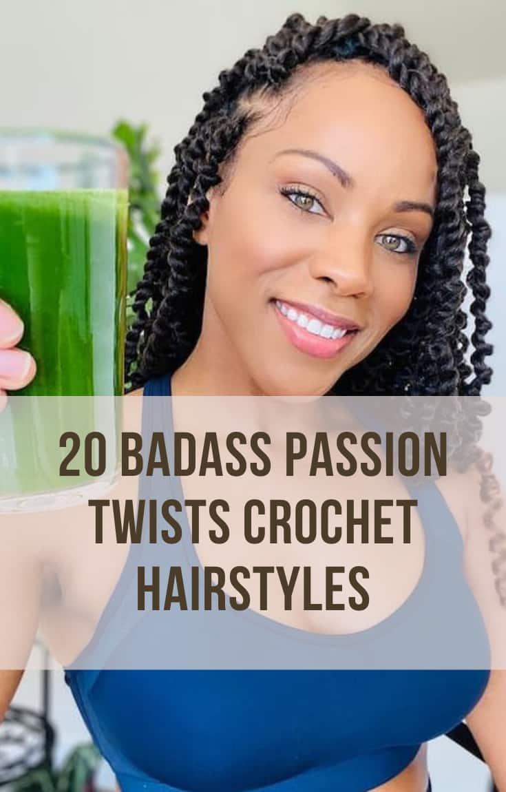 passion twists crochet hair styles