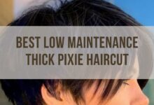 Best Low Maintenance Thick Hair Pixie Cuts