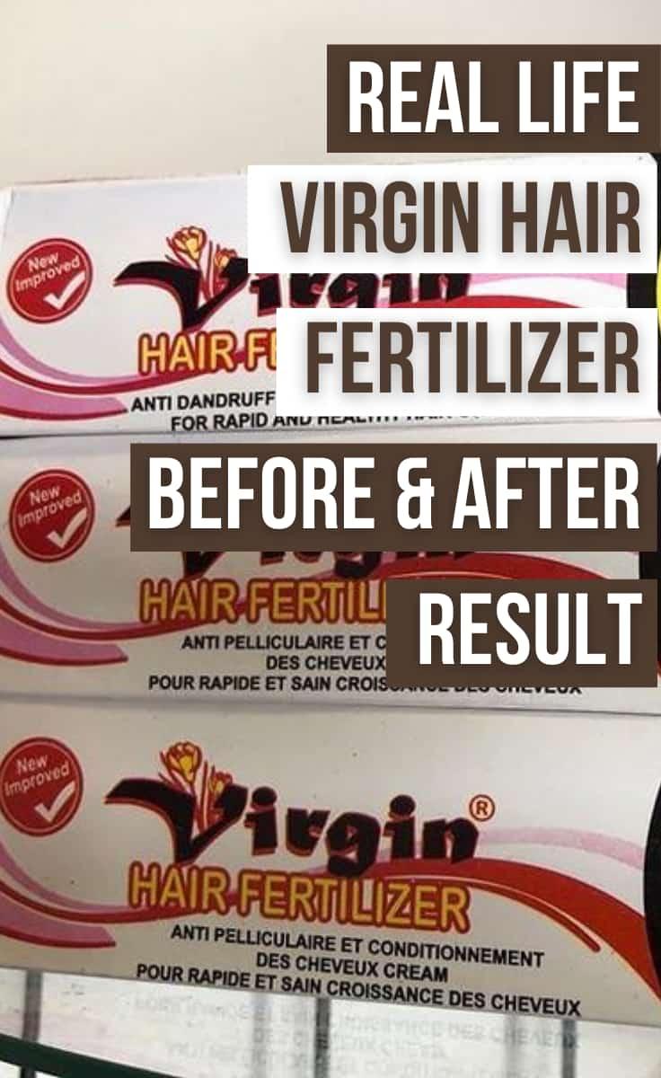 virgin hair fertilizer real life review