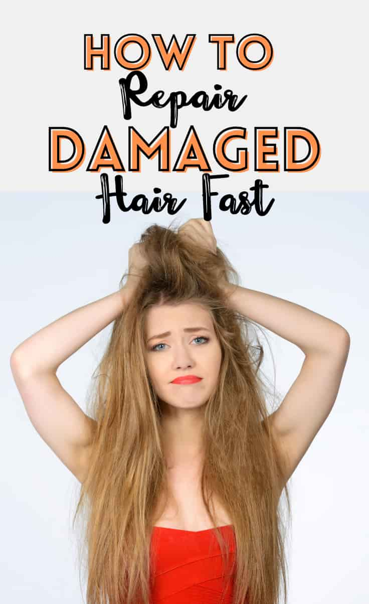 damaged hair repair
