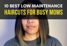 BEST LOW MAINTENANCE HAIRCUTS FOR BUSY MOMS