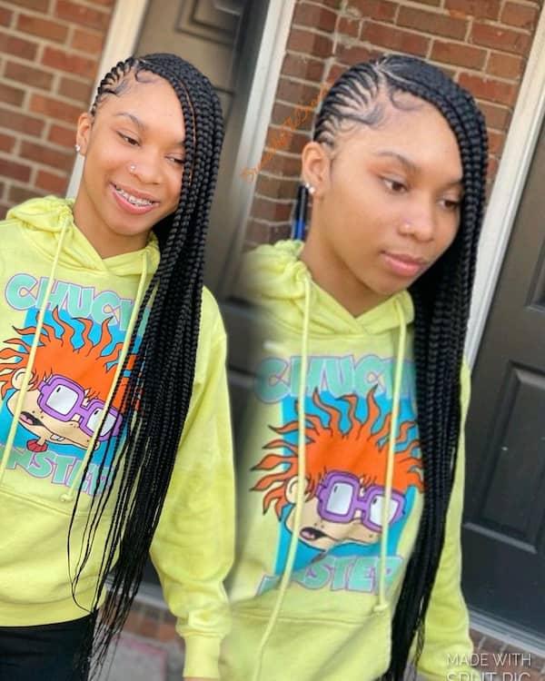 Lemonade Braid Hairstyle