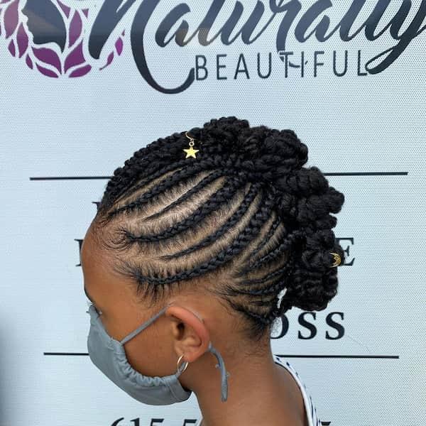 Mohawk Braid Hairstyle
