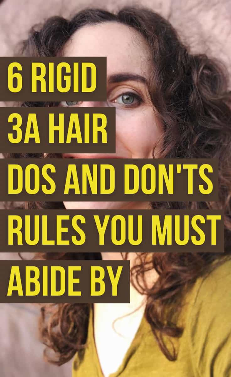 3A Hair Dos and Don'ts Rules