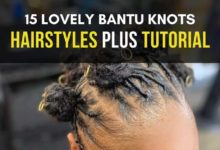 BANTU KNOTS STYLES