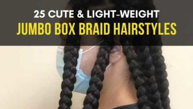Cute Jumbo Box Braid Hairstyles
