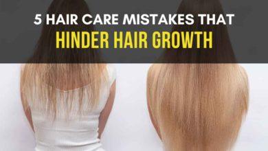 Hair Care Mistakes