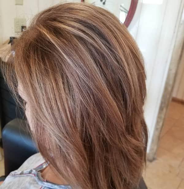 Layered Medium Length Haircut