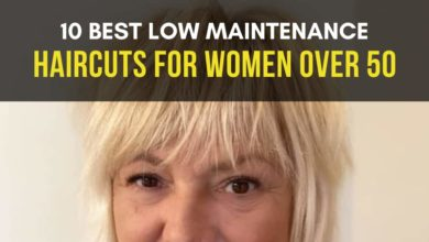 Low Maintenance Haircuts for Women Over 50