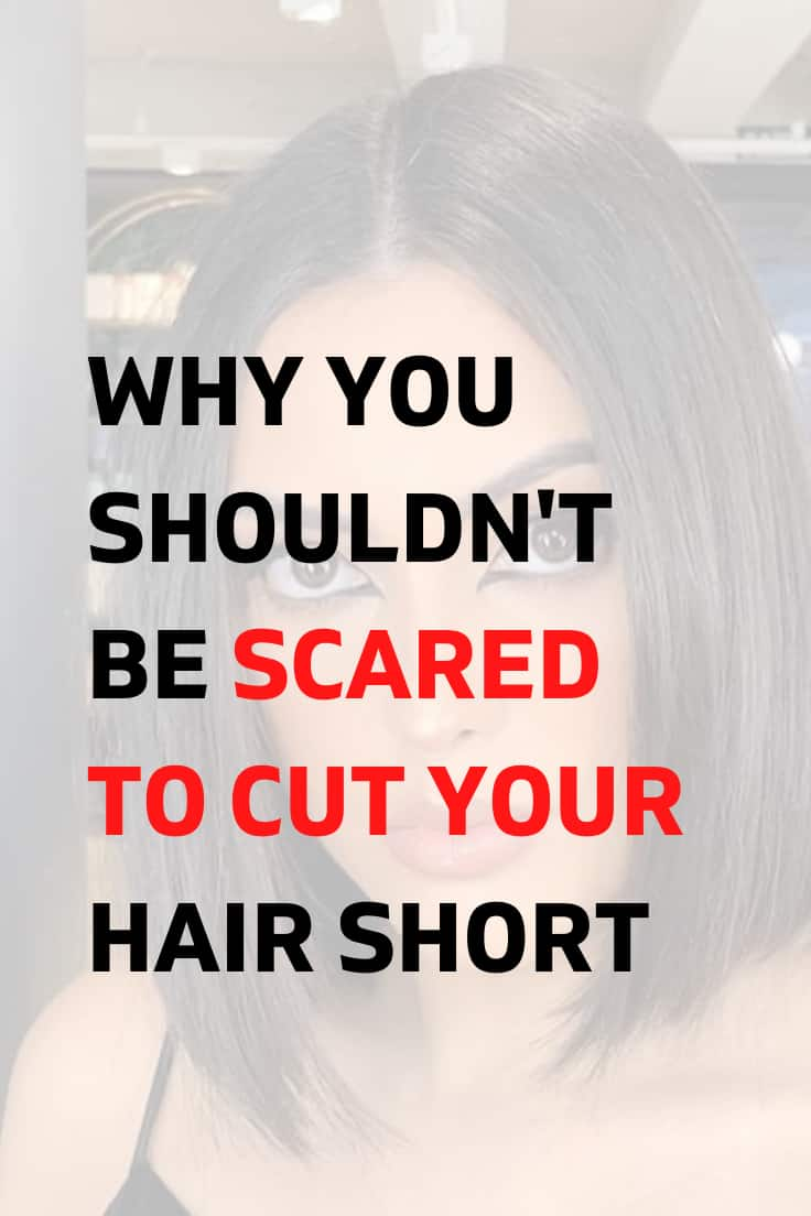 Scared to Cut Hair Short