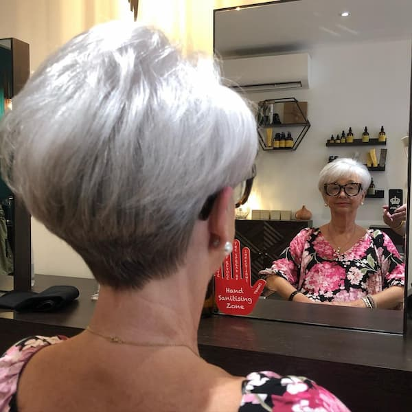 Thick Fine hair Pixie Cut