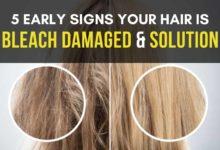 bleach damaged hair