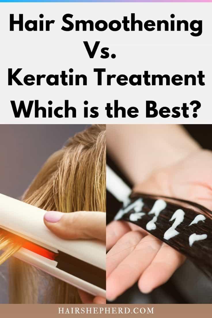 Hair Smoothening vs. Keratin Treatment