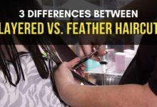 Layered Haircut vs. Feather Cut
