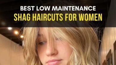 Low Maintenance Shag Haircuts for Women
